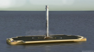 Rendering: Credit SpaceX