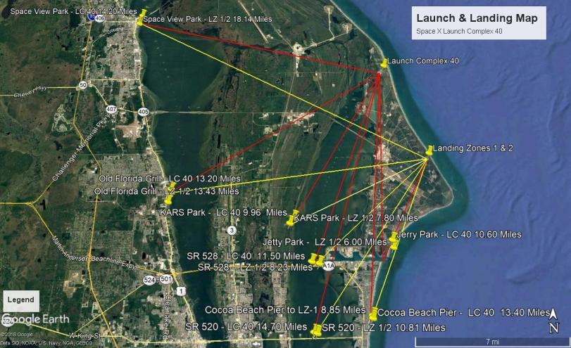 Launch Landing LC 40